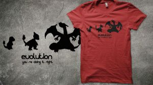 Evolution, you are doing it right Design by sakurain93