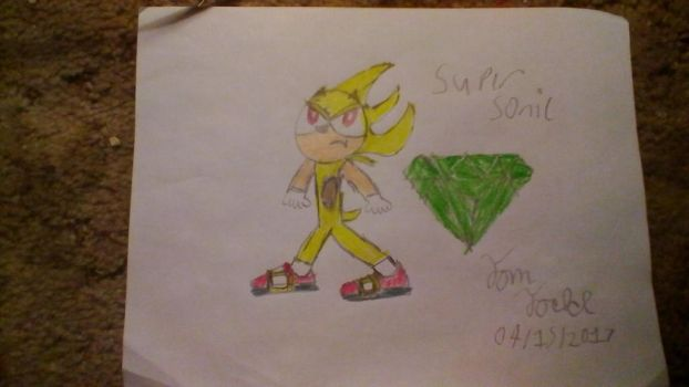 Contest Entry: Super Sonic by Tomtodd774