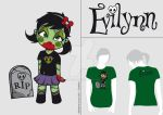 Concept/project : Evilynn t-shirt 6 by Satanisapunk