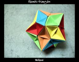Rhombic Triangles by wolbashi