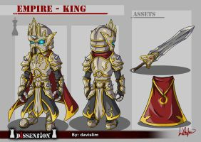 Dissension - Empire King Concept by davislim