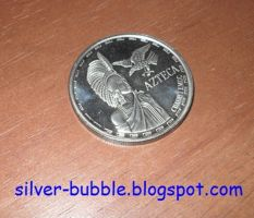 Aztec Silver Coin! by Miss-Merlina