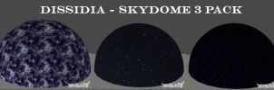 Dissidia - Sky Dome 3 Pack by xHolyxLightx