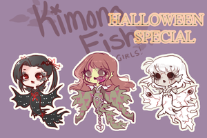 KimonoFish ADOPTS:Halloween Special: CLOSED by Getanimated