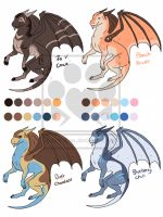 Cheap Dragon Adopts - Open by Embers-Adopts