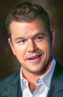 Matt Damon by SoulOfDavid