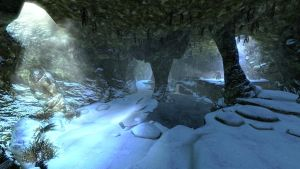 Skyrim - North Cold Rock Pass by NDC880117