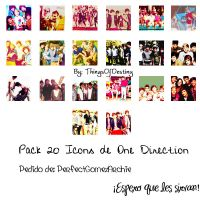 Pack 20 Icons de One Direction by ThingsOfDestiny