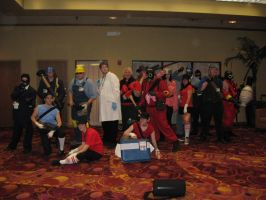 TF2 Nebraskon 2009 by SkyeBD