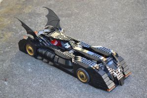 The Batmobile by mousedroid-hoojib