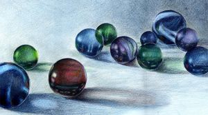 Marbles color sketch by TheCardinalArt