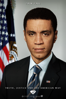 Lennix - Man of Steel Poster by P2Pproductions