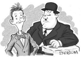 Stan and Ollie by mengblom
