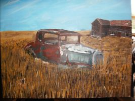 Old Ford 1 by JThomastheartist13
