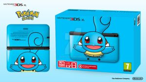 Nintendo 3DS XL Pokemon Series - Squirtle Edition by Paxxy