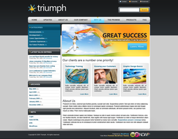 Triumph WordPress Theme by STRIF3wind