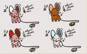 Portable Mouse Speaker Adoptables [10 points] by Iko-Kawaii