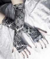 Saturnine Arm Warmers by ZenAndCoffee