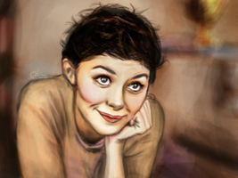 Audrey Tautou by suanlee