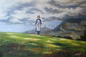 Sound Of Music painting by Mee-Lin