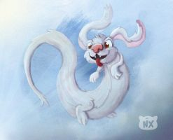 Falkor The Lucky Dragon by Nixaelich