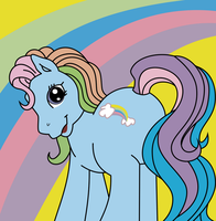 Introducing the one, the only, Rainbow Dash by lion-ger