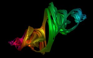 Raytraced 4d Julia Fractal by mcsoftware