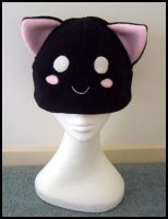 Cute Black Kitty by Jequila