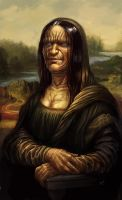 Monster Lisa by RogierB