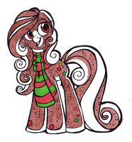 Gingerbread Pony by OfficerPony