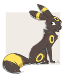 Umbreon by AllesiaTheHedge