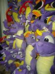Spyro Plushies - Collection Preview by RadSpyro