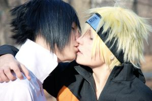 Unforgettable Kiss..SasuNaru by LuverBoysStranger