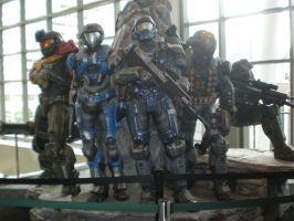 PAX Prime '10 - Noble Team by WanderingTempest