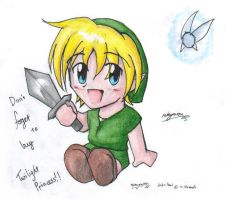 Chibi Link by reimyourou