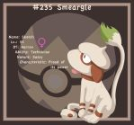 Smeargle: Favorite Normal Type by spd243