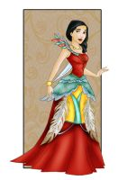 Pocahontas: New dress by Sonala