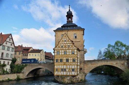 Bamberg Old Town Hall by Irondoors