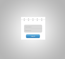 UI Login Panel by lpzdesign