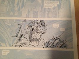 Jim lee / Scott Williams batman page preview by Travinapple