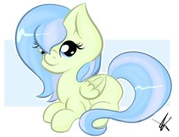 Art Trade - Cute lil Filly by LunarTails