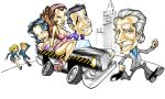 caricatura Taxi by osnaya