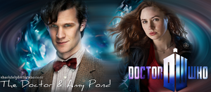 The Doctor and Amy by feel-inspired
