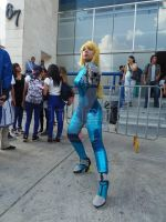Lady has it! || Zero Suit Samus by GiokaTenshi