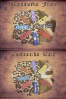 Selfmade Bookmarks by TheFlyingHeart