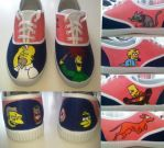 The Simpsons shoes 2 by Various-Aliter