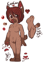 CC Anthro Quickie Ref by CoaCoaPup