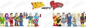 X-Men in American Dad Style 2 by bartje006