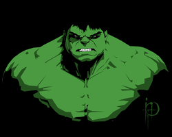 The incredible hulk by MisterXVI