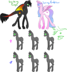 Smithing X Loving foal contest (OPEN) by Curious-Cats